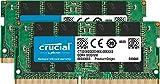 Crucial RAM CT2K32G4SFD8266 64GB (2x32GB) DDR4 2666 MHz CL19 Kit di Memoria per Laptop